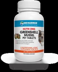 Nutri Zing Greenshell™ Mussel Pet Tablets