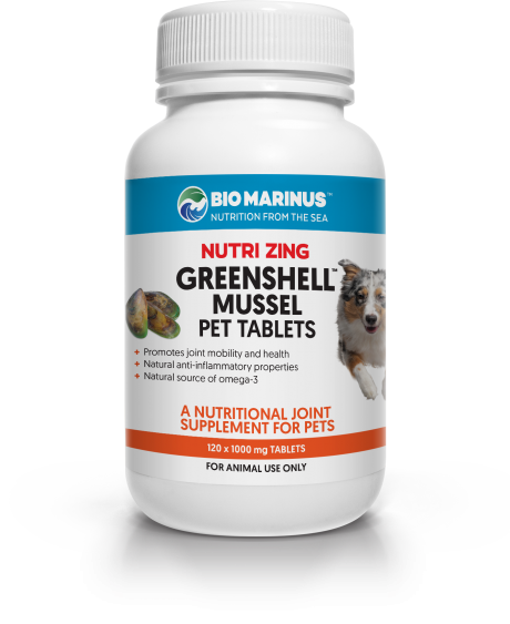 Nutri Zing Greenshell™ Mussel Pet Tablets
