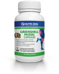 Greenshell™ Mussel Powder Capsules